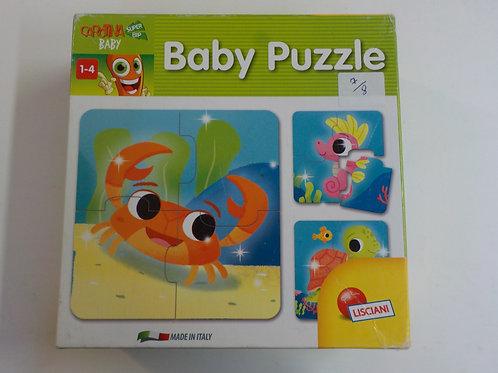 Baby Puzzle Lisciani 47383-b Casse-têtes 4 morceaux