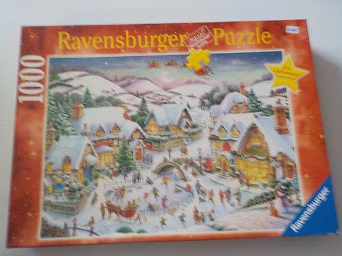 Ambiance de Noël Casse-tête  153572 Ravensburger 1000 morceaux