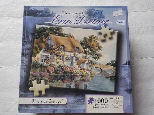 DERTNER, Erin: Riverside Cottage Casse-tête Karmin 1000 morceaux
