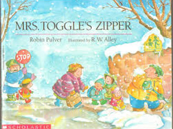PULVER ALLEY: Mrs. Toggles's Zipper SCHOLASTIC 0590468502  1990