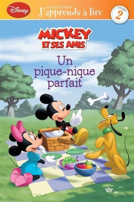 Disney: Mickey et ses amis: Un pique-nique parfait Press Adventure 9782896607792