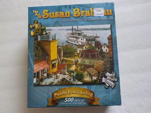 BRABEAU, Susan: Paddle Boat Landing Karmin  Casse-tête 500 morceaux