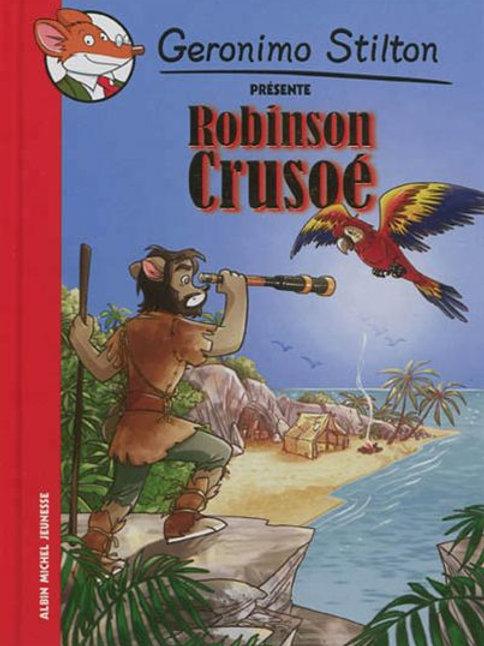 Geronimo Stilton: Robinson Crusoé 9782226242426 2012