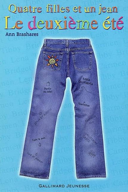 BRASHARES, Ann T2 Quatre filles et un jean: Le 2e été 9782070554010