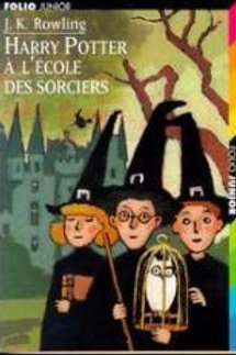 ROWLING,J.K T1 Harry Potter à l'école des sorciers 9782070518425