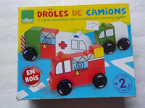 Drôles de camions  Jeux 2 ans et plus