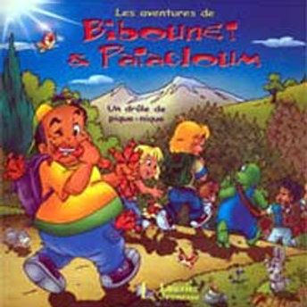 Bibounet et Patachoum : Un drôle de pique-nique 9782895731009 2007