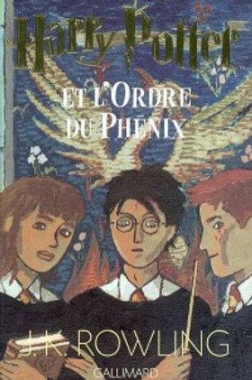 ROWLING,J.K T5 Harry Potter et l'ordre du Phénix 9782070556854 2000