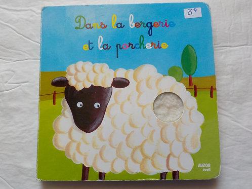 Dans la bergerie et la porcherie 9782733816448 Auzou éveil 2011