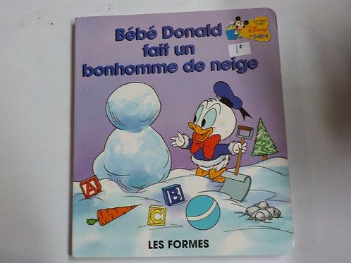 Disney bébé: Bébé Donald fait un bonhomme de neige: Les formes