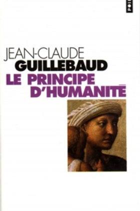 GUILLEBAUD, J-C 9782020557245 2001