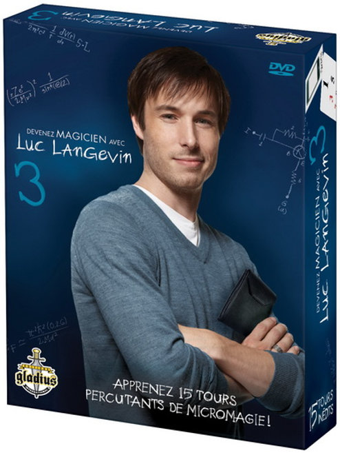 Devenez Magicien avec Luc Langevin T3 Gladius GLA4920 Jeux 10 ans et plus
