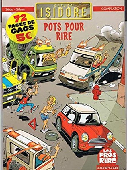 SIÉDO GILSON Garage Isidore: Pots pour rire compilation 9782800139890