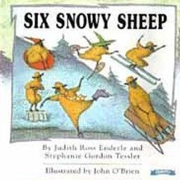 ENDERLE TESSLER O'BRIEN: Six Snowy Sheep 0590132148 Scholastic 1994