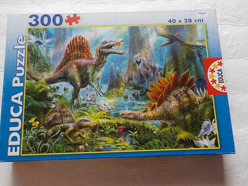 Dinosaures Educa 16366 Casse-tête 300 morceaux