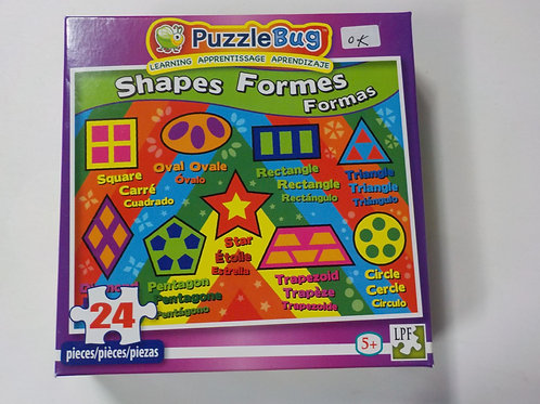 Shapes Formes Formas Casse-têtes  24 morceaux