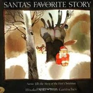 AOKI GANTSCHEV: Santa's Favorite Story 9780590444545 SCHOLASTIC 1997