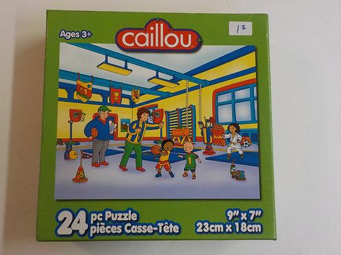 Caillou Gym 9003 Karmin Casse-têtes 24 morceau