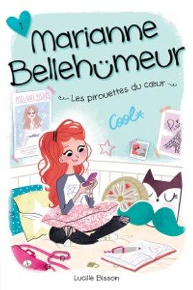 BISSON, L T1 Marianne Bellehumeur: Les Pirouettes du coeur 9782897091163