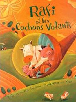 COULMAN ROGÉ Rafi et le cochons volants 9782922435023 HOMARD 2003