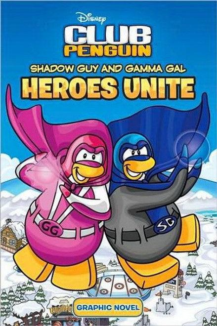 Club Penguin Disney: Shadow and Gamma Heroes Unite 2010