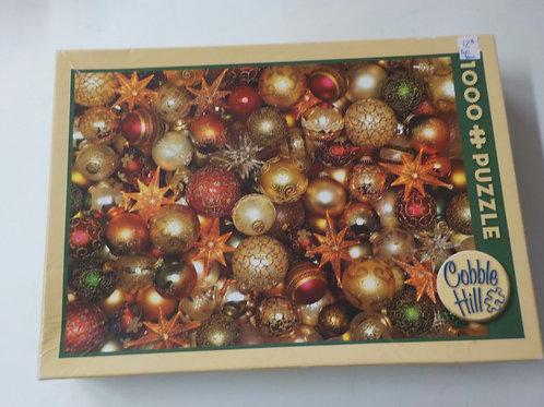 Christmas Balls Casse-tête Cobble Hill 1000 Morceaux