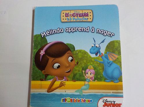 Docteur La Peluche: Mélinda apprend à nager  Ma petite bibliothèque Phidal 2014