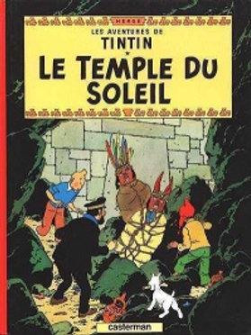 HERGÉ: Tintin: Le temple du soleil 9782203001138 2011