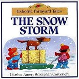 AMERY CARTWRIGHT Usborne Farmyard Tales: The Snow Storm 9780439336925