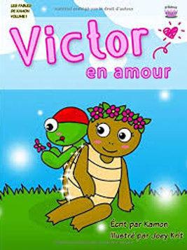 KAMON KRIT Victor en amour 9781502994035 2014