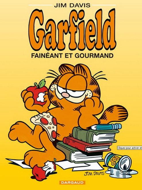 DAVIS, Jim Garfield T12 Fainéant et gourmand 9782205039948