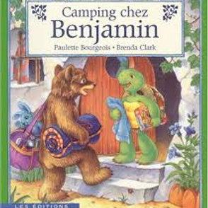BOURGEOIS CLARK Camping chez Benjamin 9780590160179  SHOLASTIC1996
