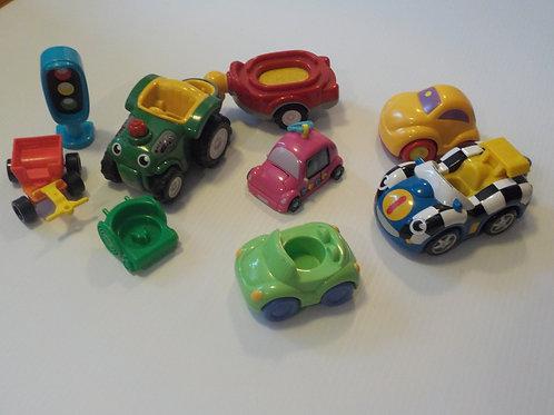 Autos pour bébés et autres jouets