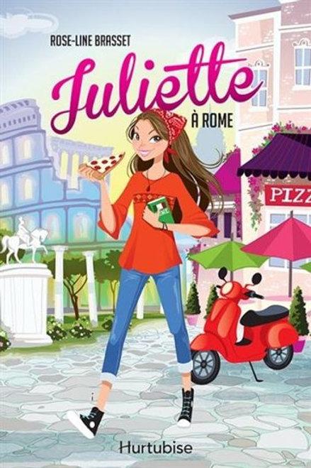BRASSET, Rose-Line: Juliette à Rome 9782897239633 2017