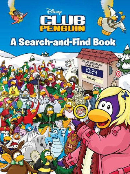 Club Penguin Disney:  A Search-and-Find Book 9780448453903 2011