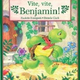 BOURGEOIS CLARK Vite, vite, Benjamin! 9780590719742  SHOLASTIC1989