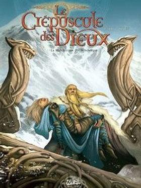 JARRY DJIEF: Crépuscule des Dieux T1 Malédiction Nibelungen 9782849467961
