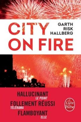 HALLBERG, Garth Risk : City on fire 9782253087342 L.POCHE 2016