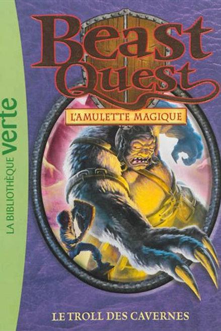 Beast Quest T25 Le troll des cavernes 9782012036598