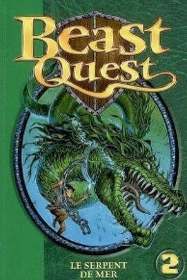 Beast Quest T2: Le serpent des mers Biblio Verte 9782012015388 2008