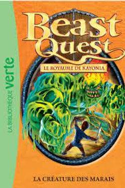 Beast Quest T38: La créature des marais 9782012317154