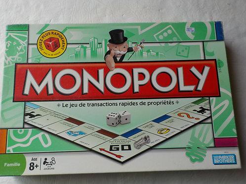 Monopoly : nouveau dé de vitesse Parker Brother Jeux 8 ans et plus