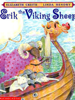 CREITH HENDRY: Erik le mouton Viking SCHOLASTIC 9780590123969 1997
