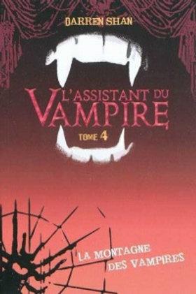 SHAN, D T4 L'assistant du vampire: La montagne des vampires 9782012018167