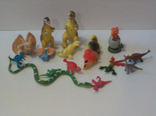 Dinosaures, serpents et plus