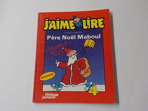J'aime lire: Père Noël Maboul Décembre 1987