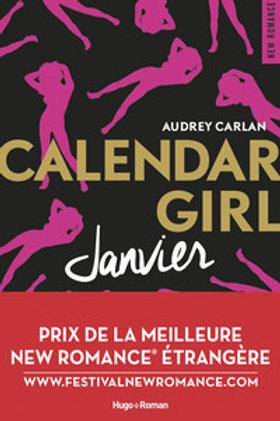 CARLAN, Audrey: Janvier, Calendar Girl 9782755629095 2017