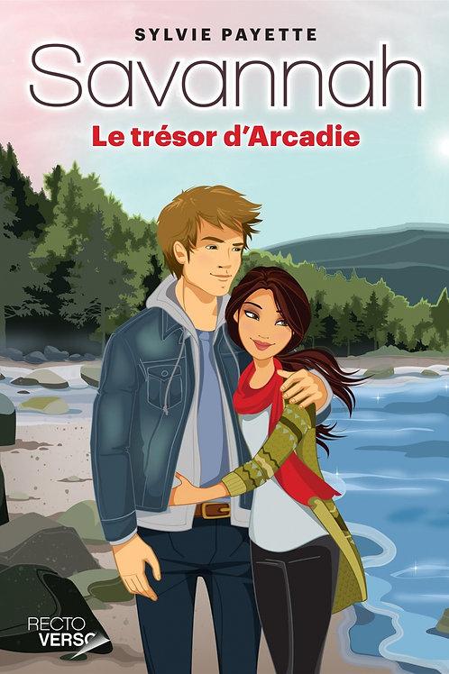 PAYETTE, Sylvie: T12 Savannah Le trésor d'Arcadie 9782924381595