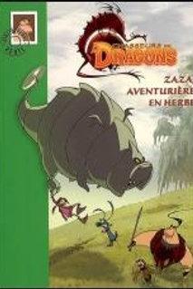 Chasseurs de dragons T2: Zaza, aventurière en herbe 9782012011366 Biblio verte
