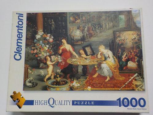 BRUEGEL: Allégorie de la vue l'odorat 30951 Casse-tête Clementoni 1000 morceaux